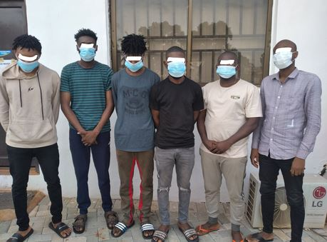 EFCC Arrests Six Suspected Internet Fraudsters In Enugu