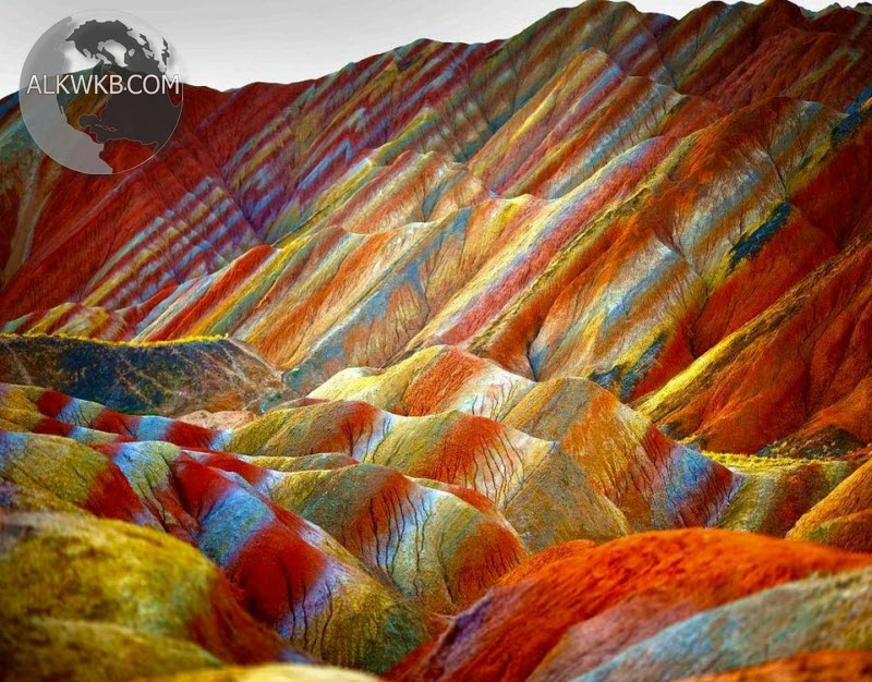 Rainbow-Mountains