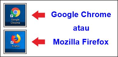 browser internet google dan mozilla