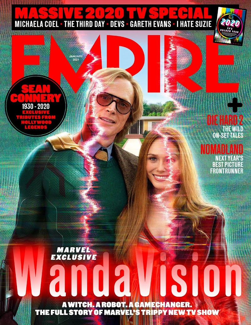 Elizabeth Olsen Featured In the Cover of Empire Magazine -January 2021