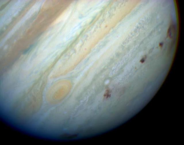 Cometa Shoemaker-Levy 9 - impacto em Júpiter