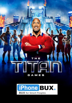 The titan games with Dwayne Johnson