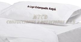 Fundas en genero blanco para almohada