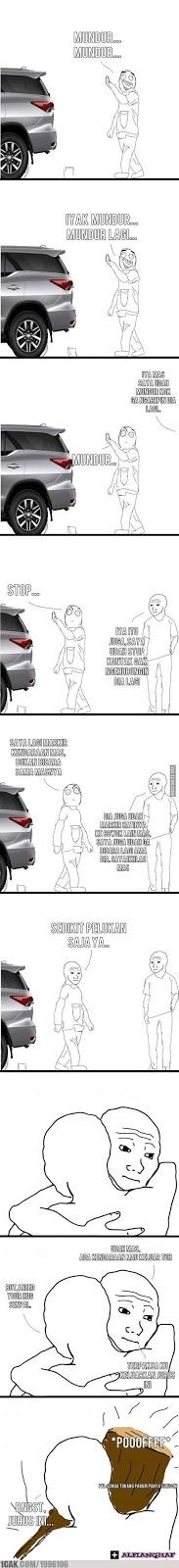 14 Meme 'Tukang Parkir Hantu' Ini Bikin Ngakak Campur Ngeselin