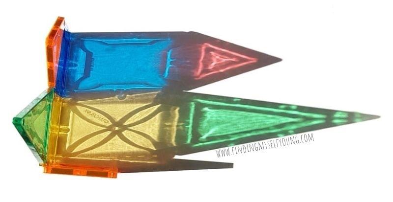 magblox vivid tile colour refractions