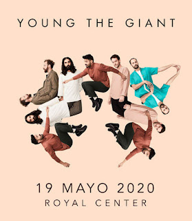 Concierto de YOUNG THE GIANT en Colombia