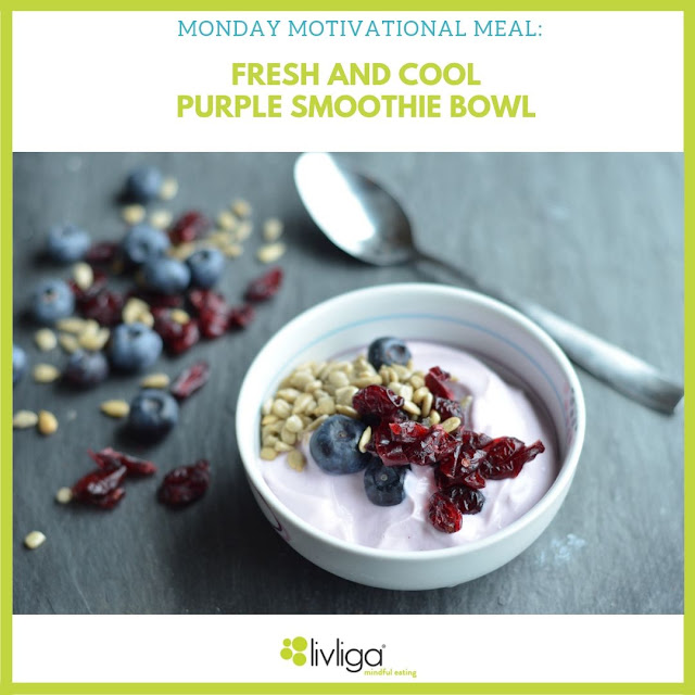 Monday Motivational Meal - Purple Smoothie Bowl