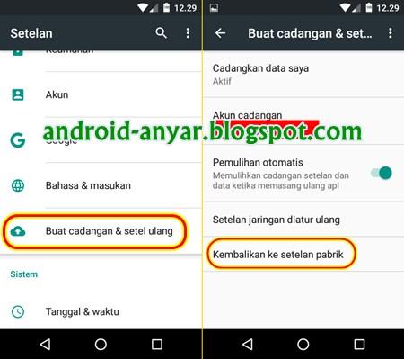Cara Instal ulang android tanpa root