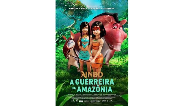"""CINEMA: Paris Filmes divulga trailer de """"Ainbo – A Guerreira da Amazônia"""" (COM VÍDEO)"""