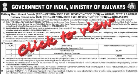 railway-central-recruitment-advertisement-order-english