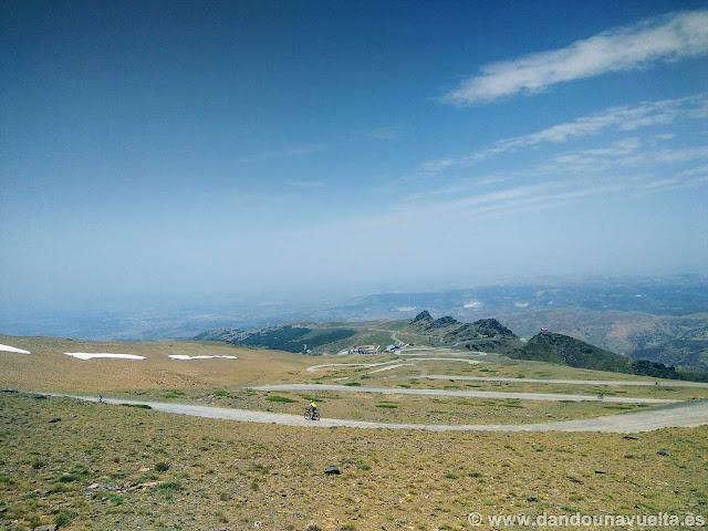 Carretera hacia El Veleta, la más alta de Europa