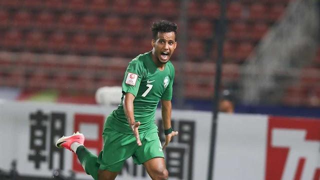 الآسيوي: عبدالرحمن غريب أفضل لاعب من غرب القارة