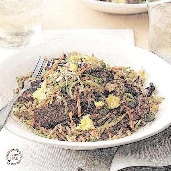 Ginger Steak Fried Rice 🍚