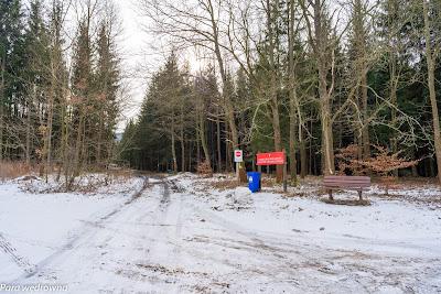 Wchodzimy na obszar Parku Krajobrazowego Sudetów Wałbrzyskich