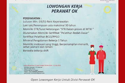 Info Lowongan Kerja Perawat Rumah Sakit Vania Bogor