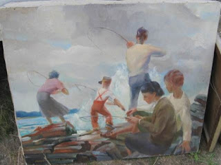 Quirk Painting,  Francis Quirk Maine Painter,  Francis J. Quirk