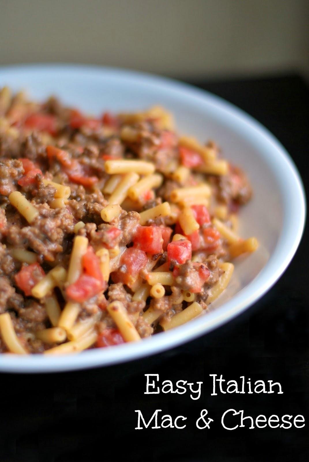 Aunt Bee's Recipes: Easy Italian Mac & Cheese