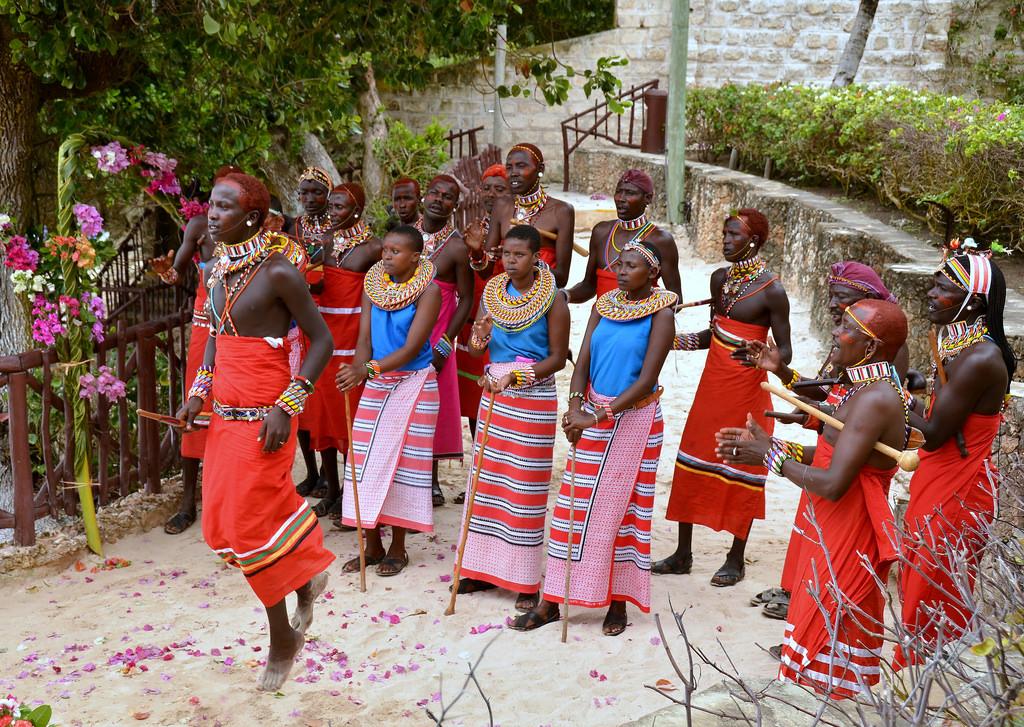 Spitting on the bride: Masai weddings Kenya