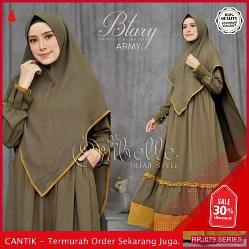 Jual RRJ079D78 Dress Muslim Syari Wanita Btary Mc Terbaru BMGShop