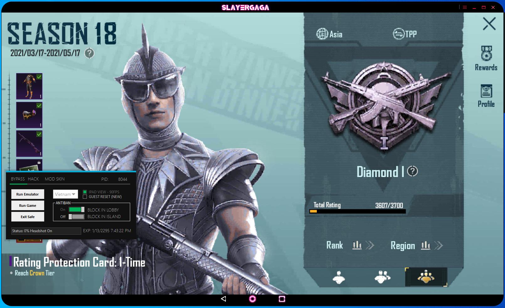 12x6 - CTW FREE BP | MOD SKIN 1.4.0 SMARTGAGA & GAMELOOP