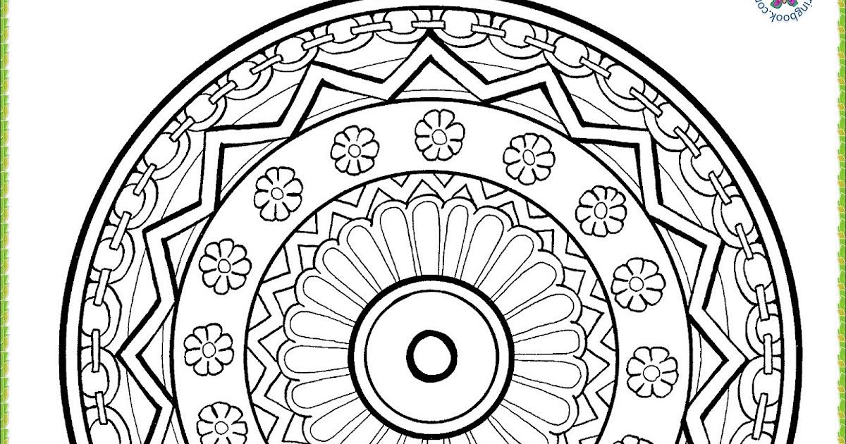 Malvorlagen Mandalas zum Drucken Pdf   Free Mandala