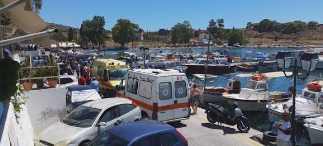 Ναυτική τραγωδία στην Αίγινα.-3 νεκροί και 3 τουρίστες βαριά τραυματίες έπειτα από σύγκρουση σκάφους με ταχύπλοο
