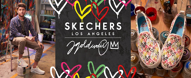 Shoeography:  Skechers X JGoldcrown Heart Footwear Collection: Valentine's Day Gifts for Under $100