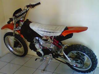 biaya modifikasi motor bebek jadi trail modifikasi rangka motor bebek jadi trail
