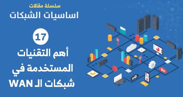 أهم التقنيات المستخدمة في شبكات الـ WAN