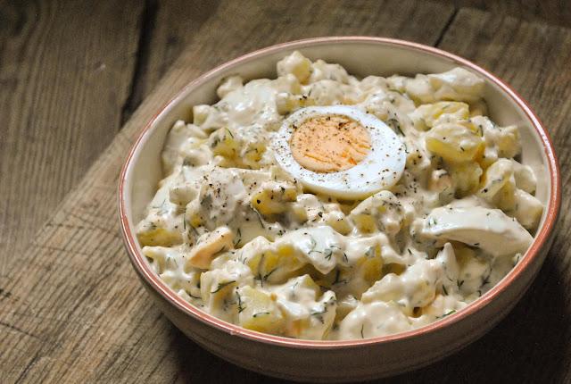 Kreemjas kartuli-munasalat