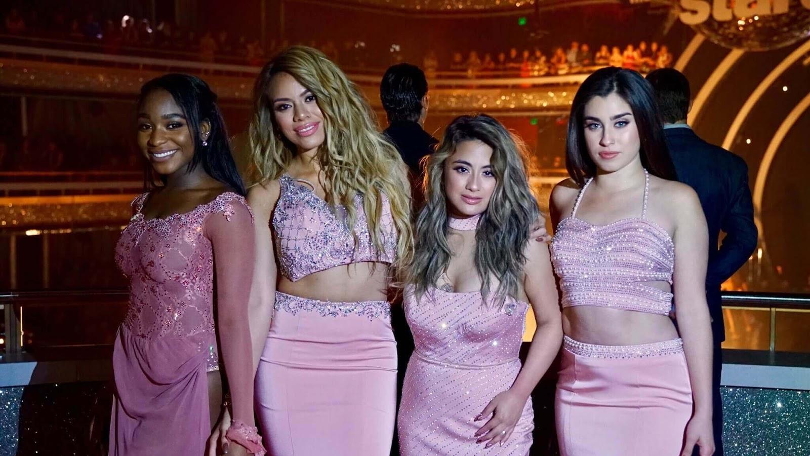 Fifth Harmony cantan mientras Normani Kordei se presenta en 'Dancing With The Stars'