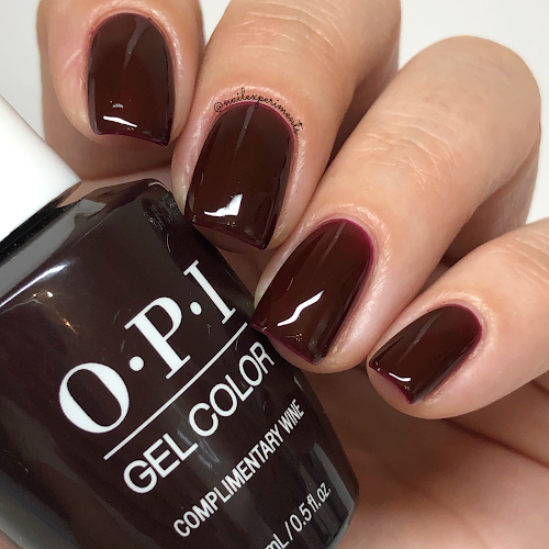opi complimentary wine gel color muse of milan fall 2020