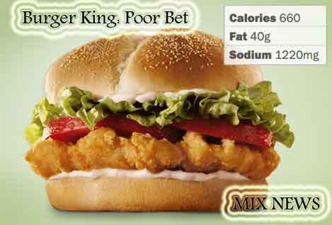 Diet,debris,wors,double grip,sandwiches,Burger King: Poor Bet , Diet debris and worst double grip sandwiches