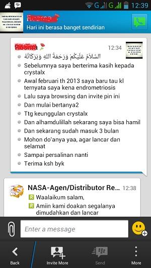 testimoni produk kesehatan nasa crystal x