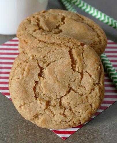 Brown Sugar and Cinnamon Cookies Recipe #desserts #cinnamon #cookies #sugar #recipes
