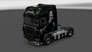 Metallica Skin for DAF XF v 2.0