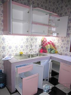 Kitchen Set Bentuk U Terbaru 2021 - Furniture Semarang
