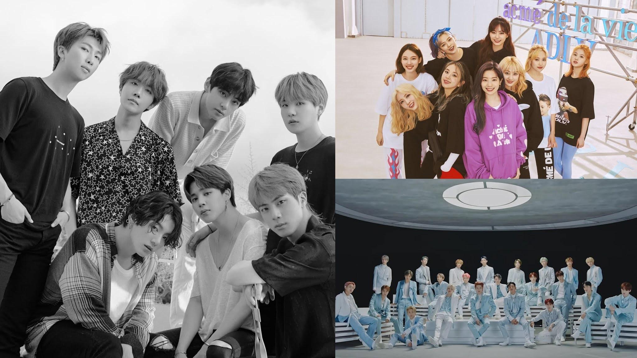List of K-Pop Groups Brand Reputation in November