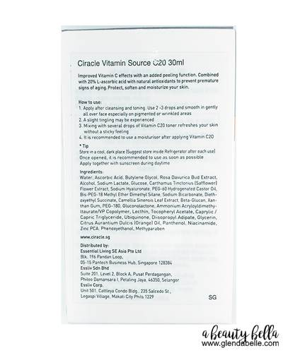 Ciracle Vitamin Source C20