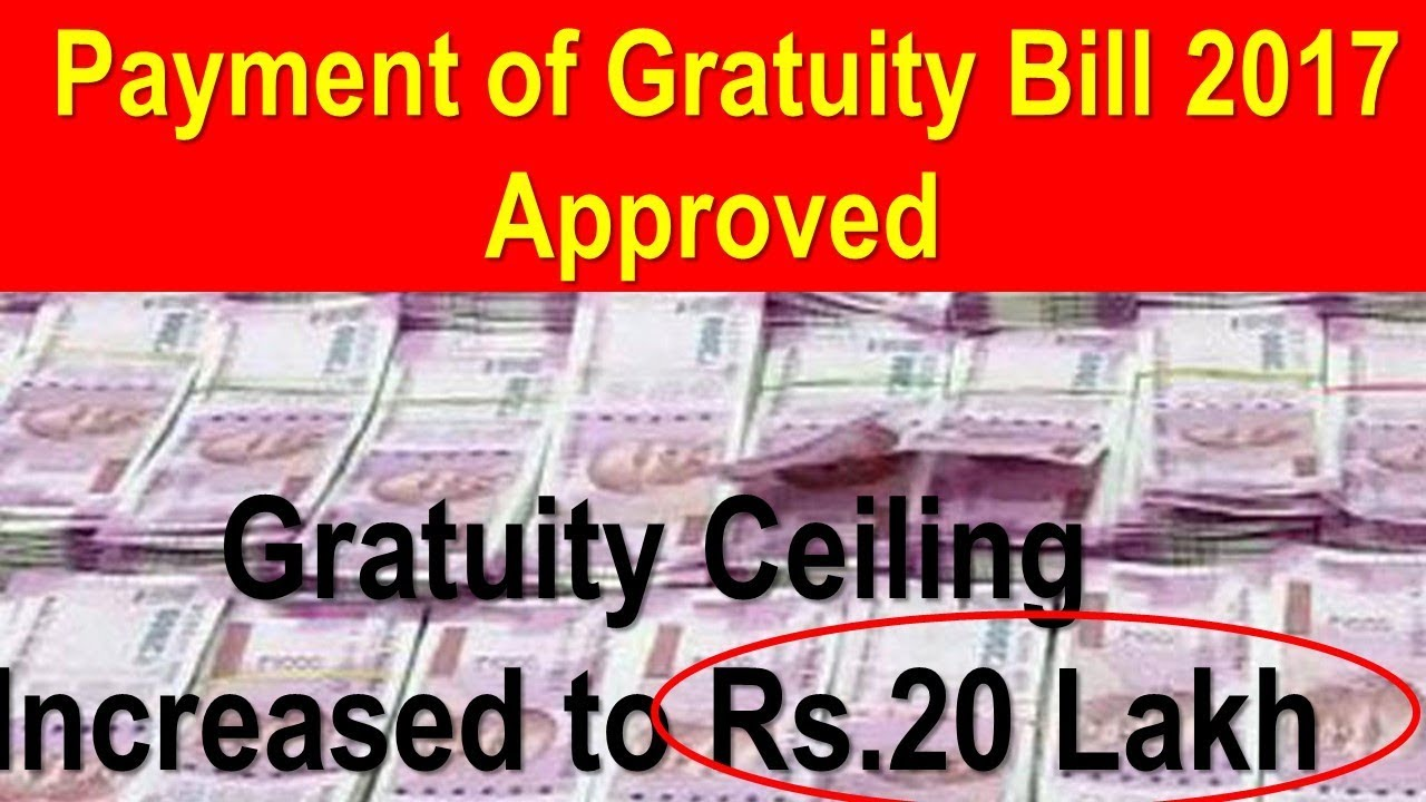 payment of gratuity