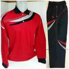 Baju Olahraga Sekolah Custom