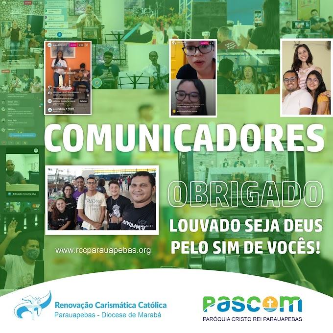 55º dia mundial das Comunicações Sociais. Obrigado Comunicadores