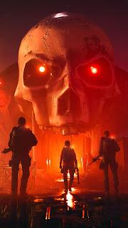 Tom Clancys The Divison Skull Mobile HD Wallpaper