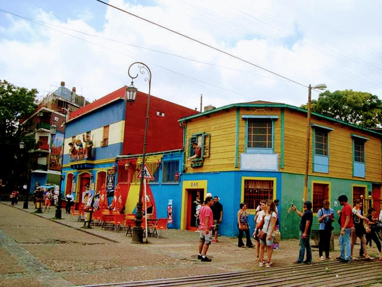 Bairro La Boca, Buenos Aires.