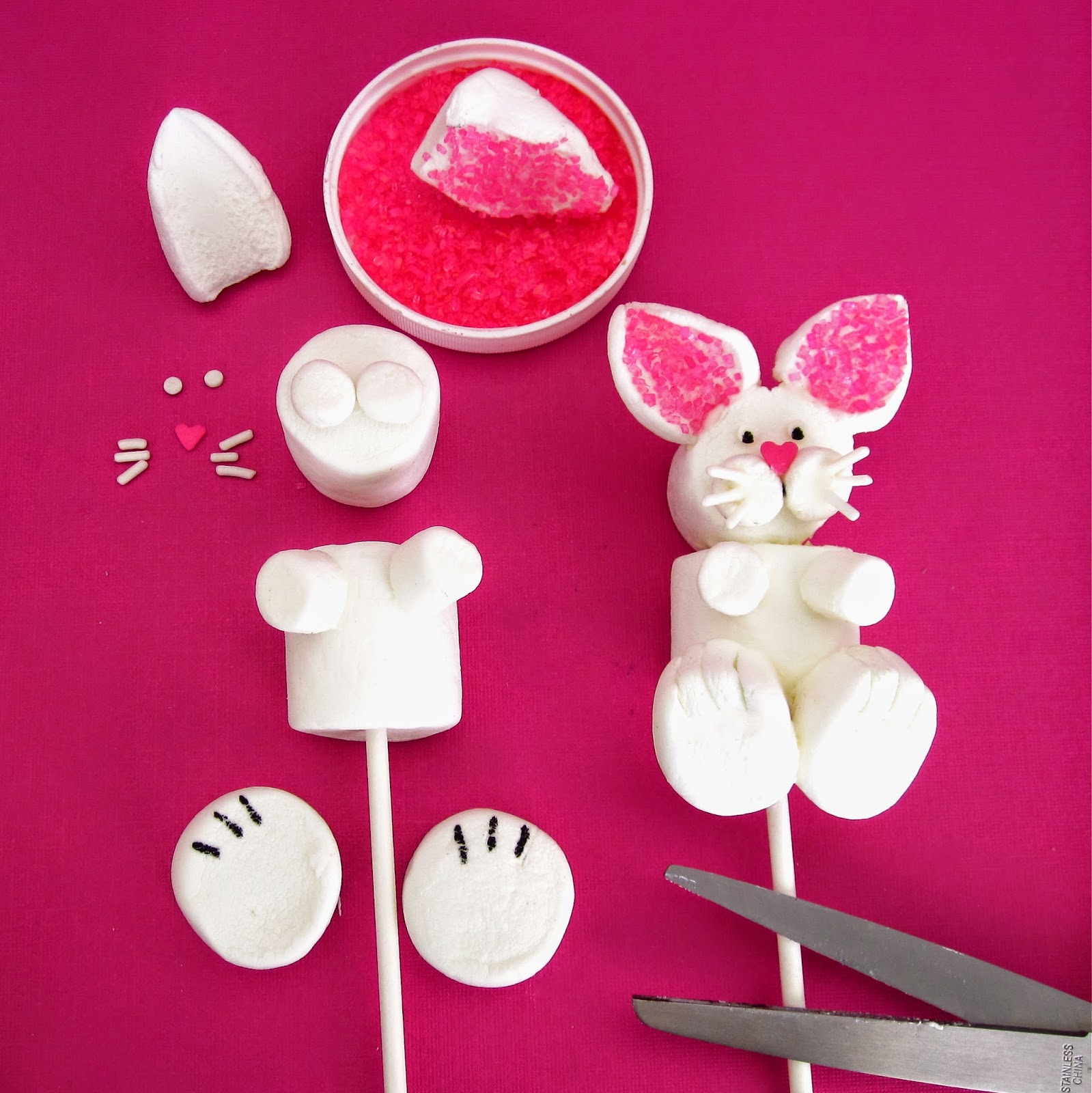 Video Marshmallow Easter Bunny Pops Lindsay Ann Bakes