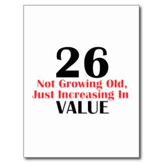 26 jaar Verjaardagswensen 26 Jaar   ARCHIDEV 26 jaar