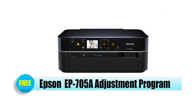 Epson  EP-705A Adjustment Program