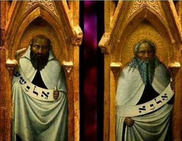 """Prophets Elijah and Elias"" by Stefano Di Giovanni"