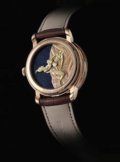 力量與激情的結合 再現BLANCPAIN頂級赤銅金雕與春宮腕錶之超凡工藝