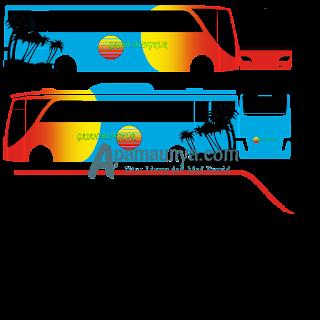 Download Livery Gajah Mungkur Old Setra Bussid